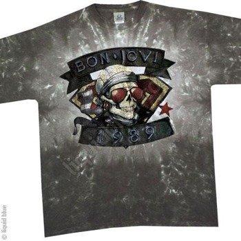koszulka BON JOVI - 1989 barwiona