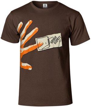 koszulka CAŁA GÓRA BARWINKÓW - KOCHAM KŁOPOTY brązowa