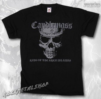 koszulka CANDLEMASS - KING OF THE GREY ISLANDS