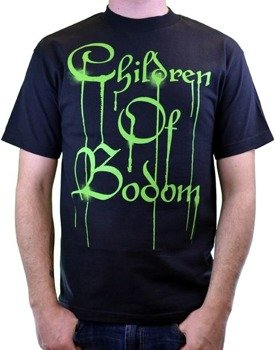 koszulka CHILDREN OF BODOM - GREEN DRIPPING LOGO