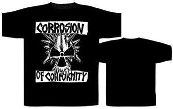 koszulka  CORROSION OF CONFORMITY - LOGO SKULL