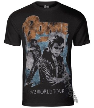 koszulka DAVID BOWIE - 1972 WORLD TOUR
