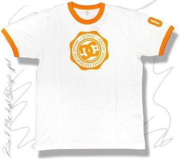 koszulka DC Athletica RG  biało-pomarańczowa