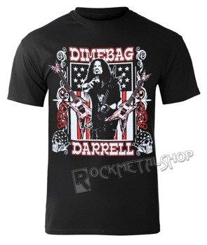 koszulka DIMEBAG DARRELL - GUITAR FLAG