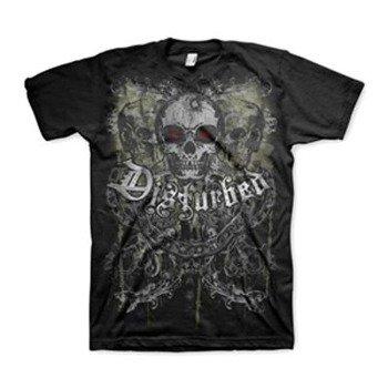 koszulka DISTURBED - SKULL CHAIN