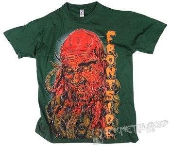 koszulka FRONTSIDE - OŚMIORNICA zielona