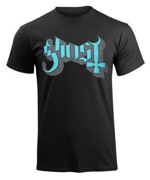 koszulka GHOST - BLUE GREY KEYLINE LOGO