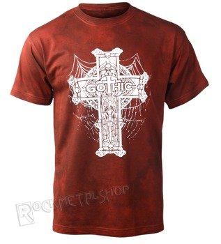 koszulka GOTHIC CROSS barwiona