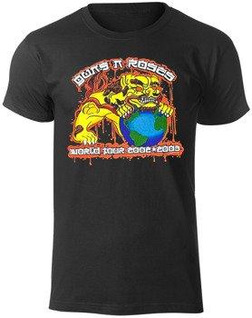 koszulka GUNS N' ROSES - CHOW DOG TOUR 2002-2003