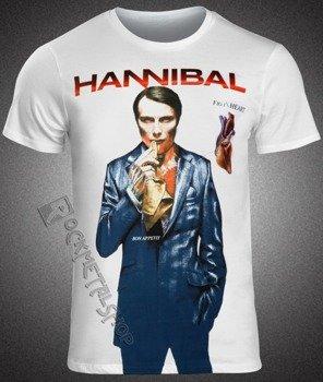 koszulka HANNIBAL - FIG. 1 HEART (WHITE)