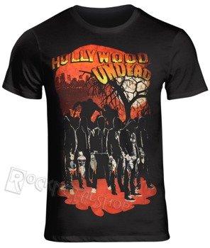 koszulka HOLLYWOOD UNDEAD - FACELESS HORROR