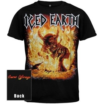 koszulka ICED EARTH - BURNT OFFERINGS