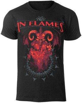 koszulka IN FLAMES - BAPHOMET