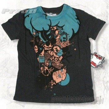 koszulka IRON FIST - BRAINSTORM (Charcoal Heather)