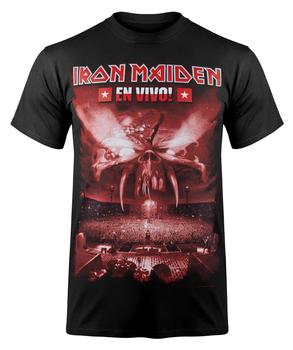 koszulka IRON MAIDEN - EN VIVO RED COVER