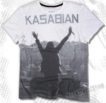 koszulka KASABIAN - EMPIRE biała