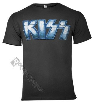 koszulka KISS - LOGO CHARCOAL