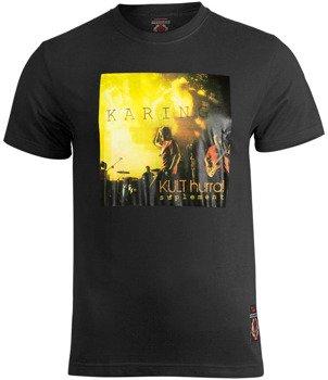 koszulka KULT - KARINGA / HURRA! SUPLEMENT czarna