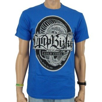 koszulka LIMP BIZKIT - CIRCULAR CREST (BLUE)
