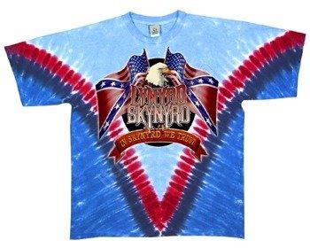 koszulka LYNYRD SKYNYRD - FREEBIRD barwiona