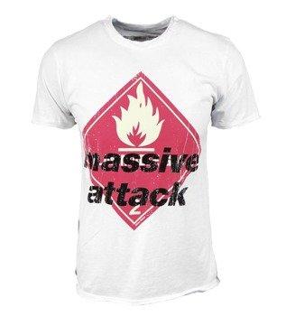 koszulka MASSIVE ATTACK biała
