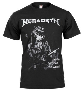 koszulka MEGADETH - SO FAR, SO GOOD... SO WHAT?