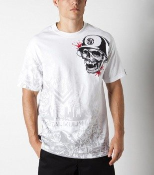 koszulka METAL MULISHA - GUNFIRE biała