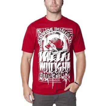 koszulka METAL MULISHA - HASTE czerwona