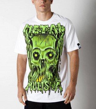 koszulka METAL MULISHA - LIQUIFY biała