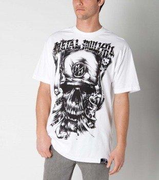 koszulka METAL MULISHA - SMOKED OUT biała