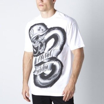 koszulka METAL MULISHA - SNAKE BITE biała