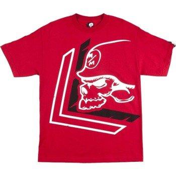 koszulka METAL MULISHA - WARN czerwona