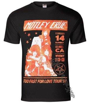 koszulka MOTLEY CRUE - VINTAGE WHISKEY GO GO