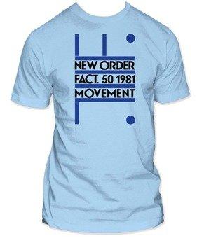 koszulka NEW ORDER - MOVEMENT FACT 50