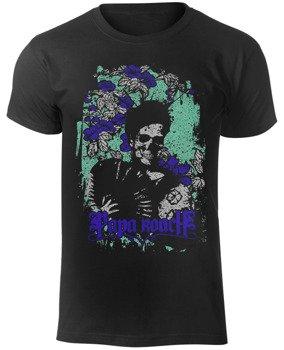 koszulka PAPA ROACH - FLOWER SKULL