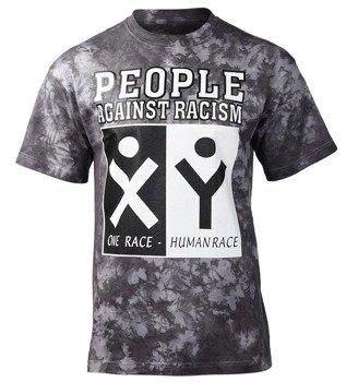 koszulka PEOPLE AGAINST RACISM barwiona