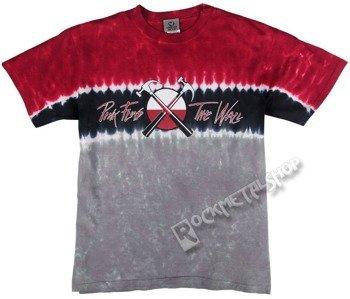 koszulka PINK FLOYD - HAMMER CROSS LOGO barwiona