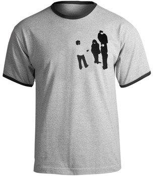 koszulka PUSTKI - KONIEC KRYZYSU szary melanż