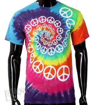 koszulka RAINBOW SPIRAL PEACE