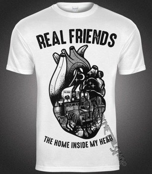 koszulka REAL FRIENDS - HEART
