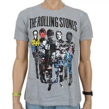 koszulka ROLLING STONES - SILHOUETTE GREY