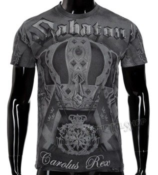 koszulka SABATON - CAROLUS REX ALL PRINT