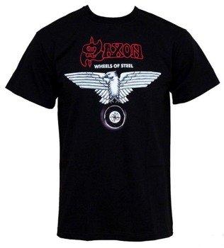 koszulka SAXON - WHEELS OF STEEL