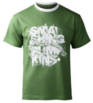 koszulka SMASHING PUMPKINS - LOGO zielona