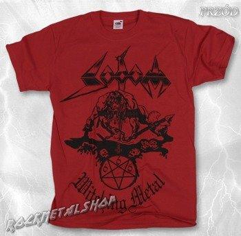 koszulka SODOM - WITCHING METAL czerwona