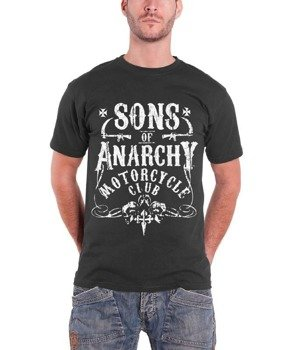 koszulka SONS OF ANARCHY - CLUB grey