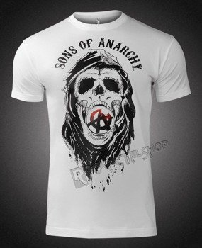 koszulka SONS OF ANARCHY - DRAFT SKULL