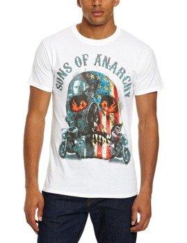 koszulka SONS OF ANARCHY - FLAME SKULL