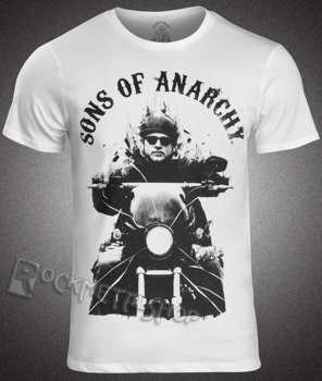 koszulka SONS OF ANARCHY - JAX ON MOTORCYCLE