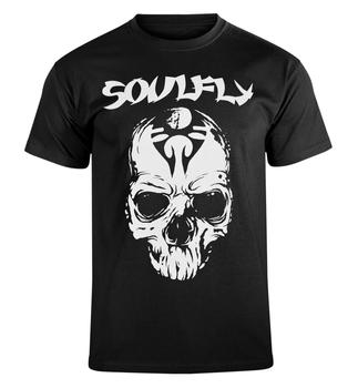 koszulka SOULFLY - SKULL WHITE